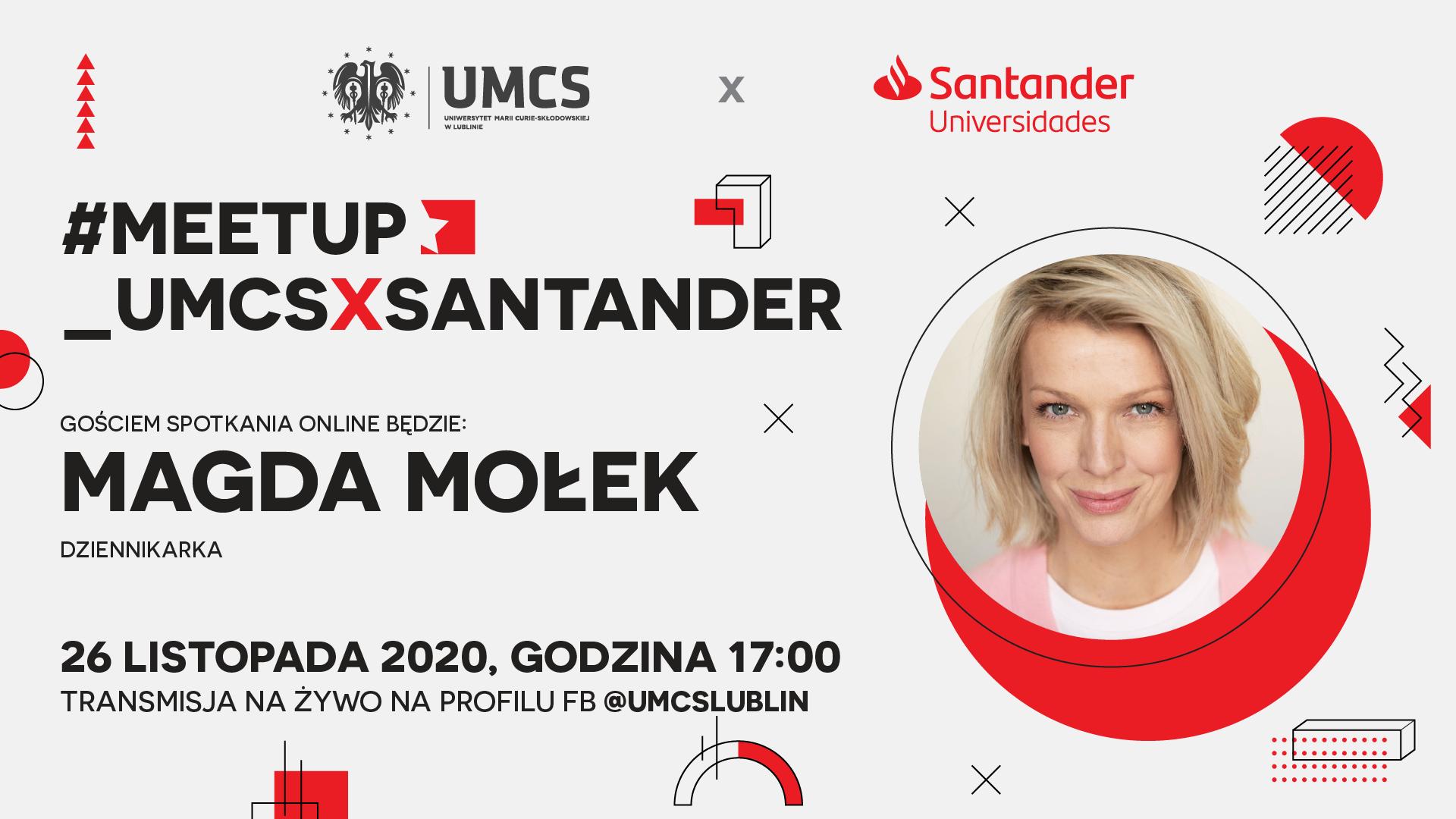 Magda Mołek - prezenterka telewizyjna gościem jutrzejszego spotkania UMCS w Lublinie - Zdjęcie główne