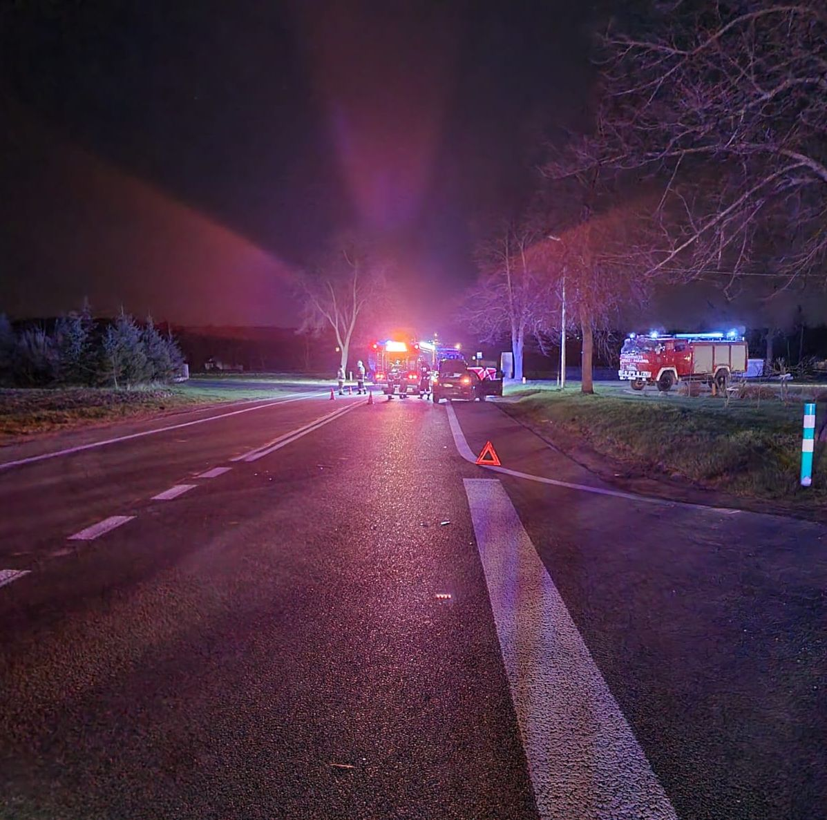 Śmiertelne potrącenie pieszego na trasie z Lublina do Kraśnika - Zdjęcie główne
