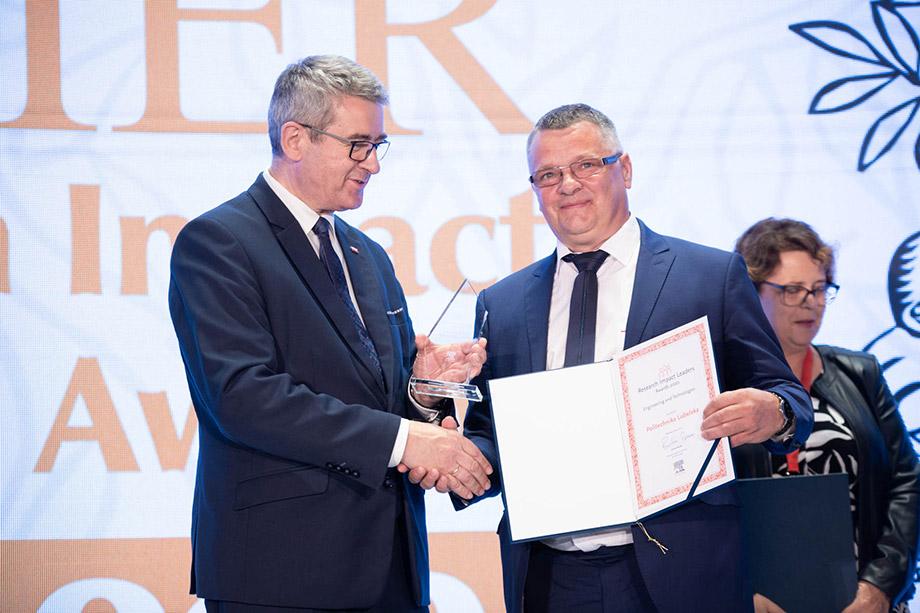 Lublin: Politechnika Lubelska z kolejną nagrodą. Za publikacje naukowe - Zdjęcie główne
