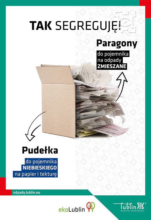 """Akcja """"Tak Segreguję!"""". Lubelski Ratusz informuje o zasadach segregacji odpadów - Zdjęcie główne"""