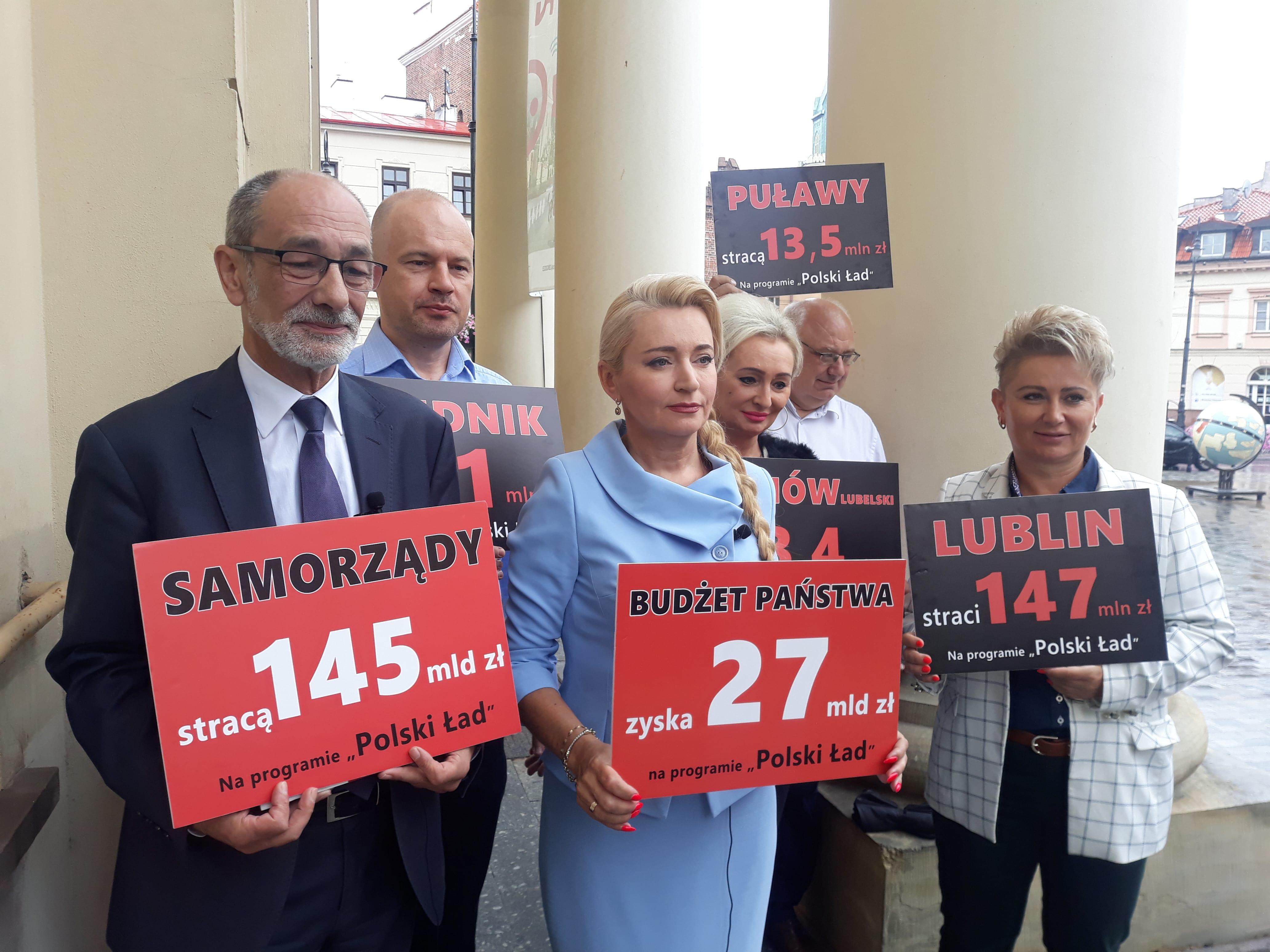 Lublin: System podatkowy Polskiego Ładu do zmiany? Poseł Marta Wcisło: To nie jest Polski Ład, to jest Polski Bezład [WIDEO] - Zdjęcie główne