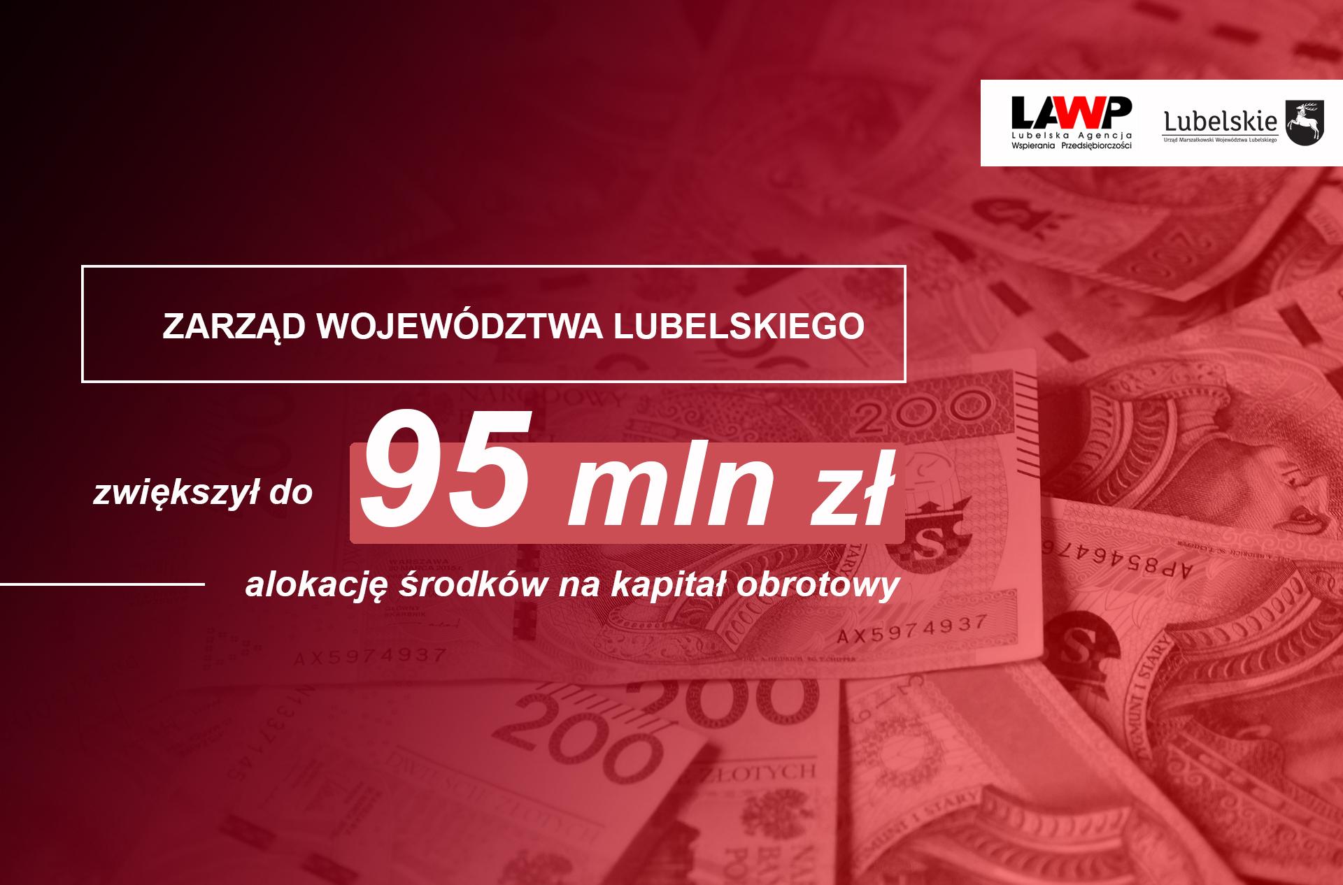 Więcej pieniędzy na pomoc przedsiębiorcom z Lubelszczyzny - Zdjęcie główne
