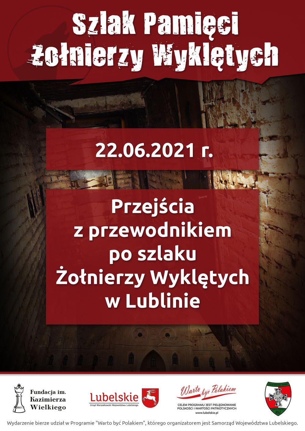 Lublin: uczniowie przejdą Szlakiem Pamięci Żołnierzy Wyklętych - Zdjęcie główne