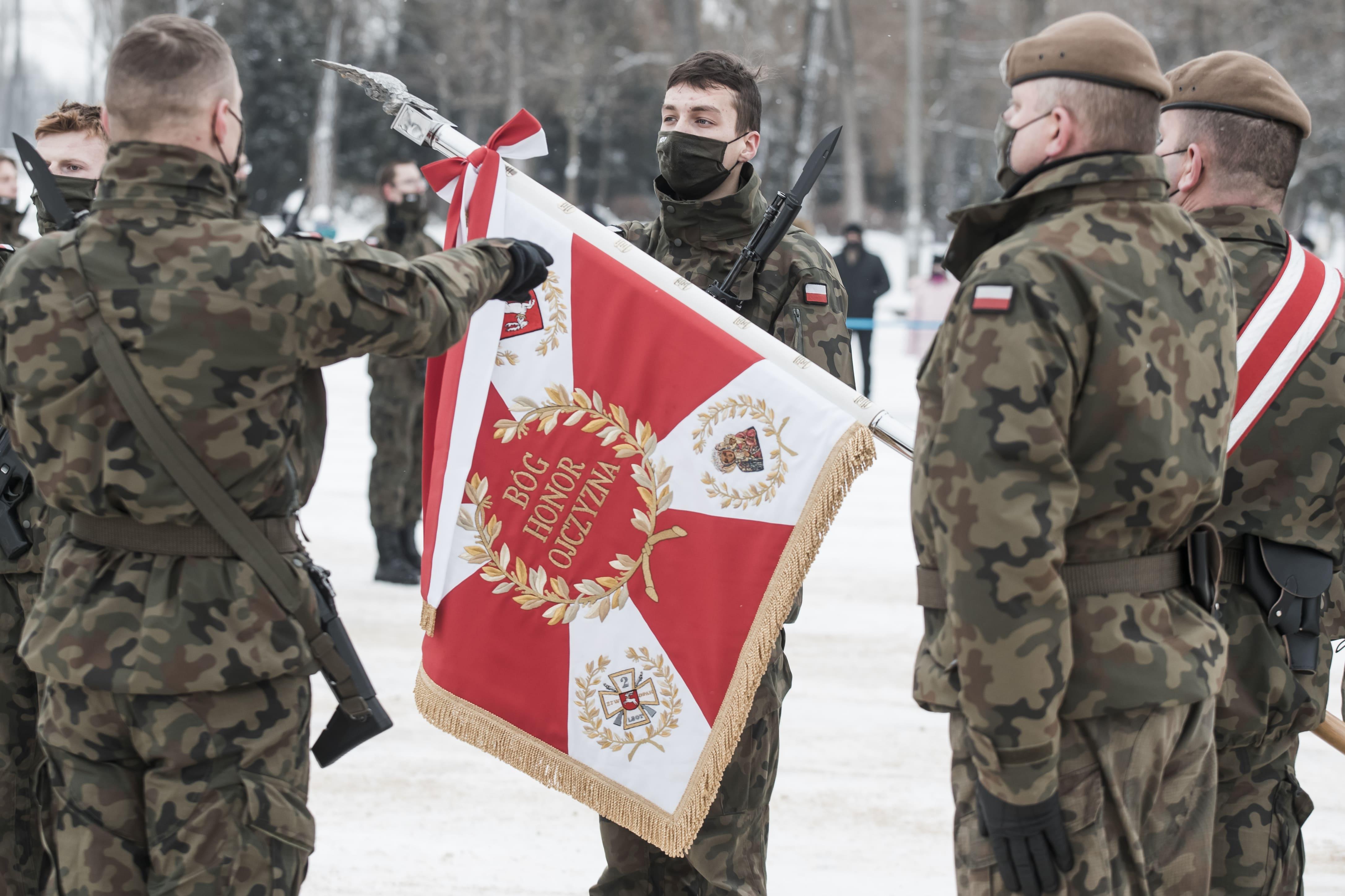 66 nowych, lubelskich terytorialsów złożyło przysięgę - Zdjęcie główne