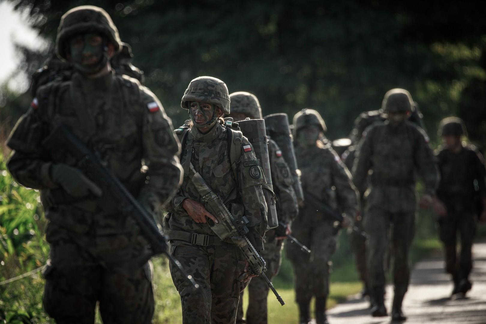 Województwo lubelskie: Terytorialsi szkolą kolejnych rekrutów - Zdjęcie główne