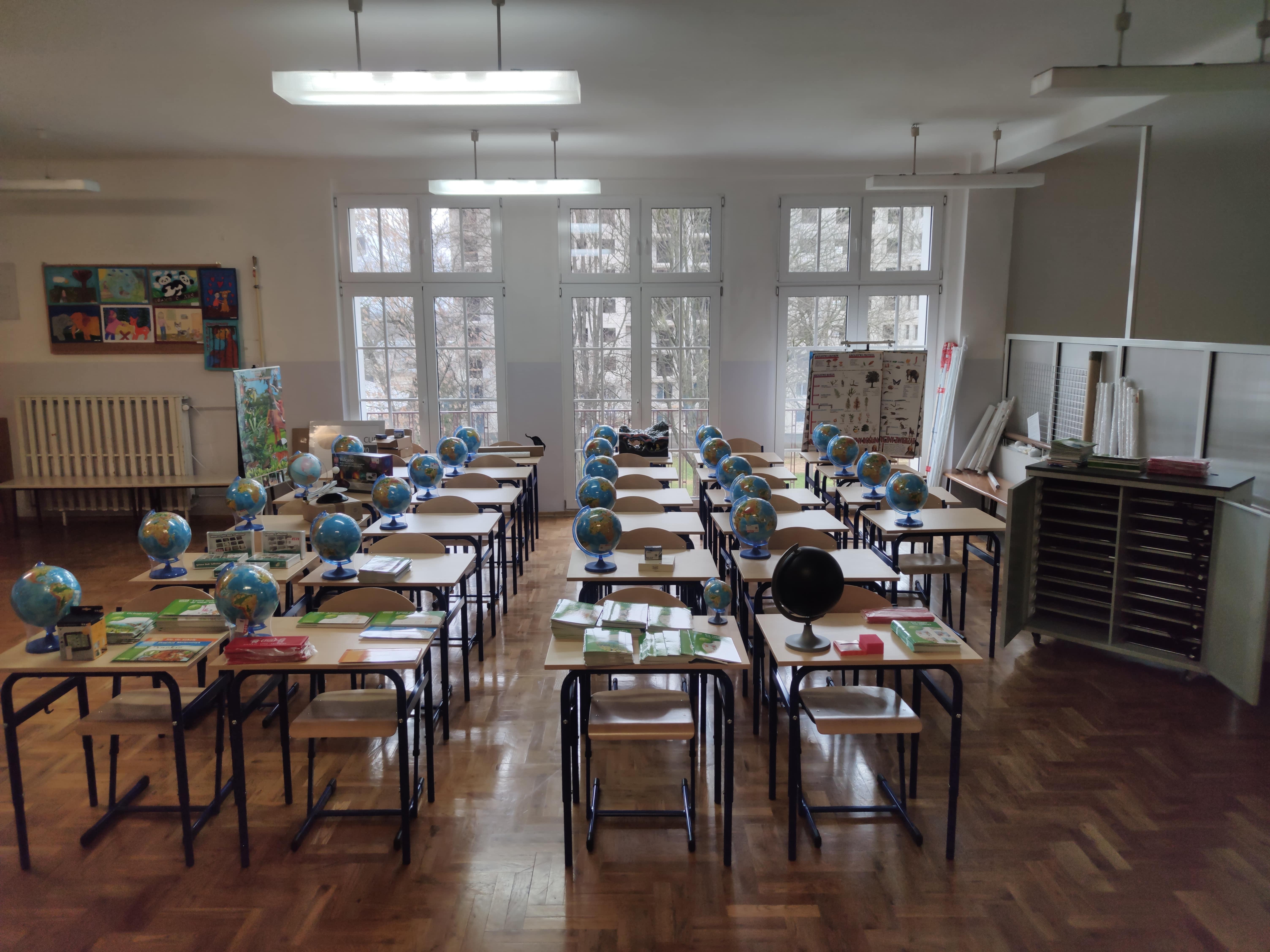 Szkoła Podstawowa nr 31 w Lublinie dostała nowy sprzęt - Zdjęcie główne