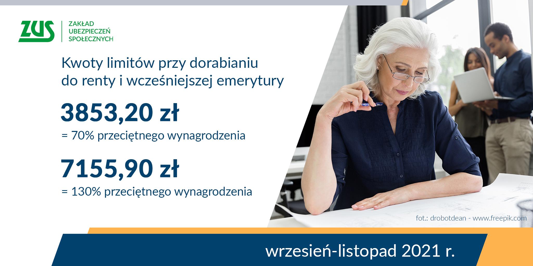 Województwo lubelskie: Są nowe limity dorabiania do emerytur i rent  - Zdjęcie główne