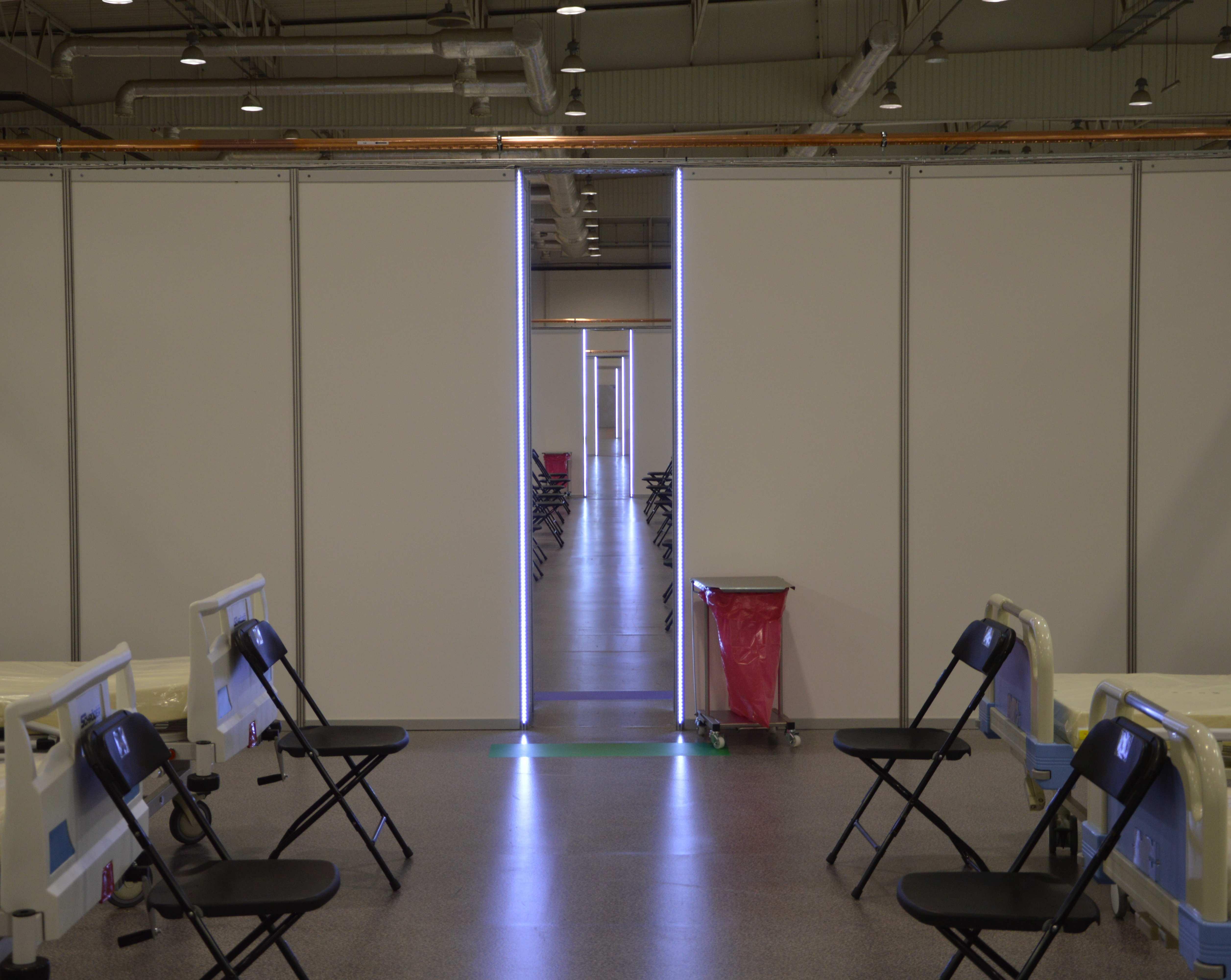 Koronawirus: tylko dwa wolne łóżka w szpitalu tymczasowym. Spodziewany duży wzrost liczby nowych zakażeń w woj. lubelskim - Zdjęcie główne