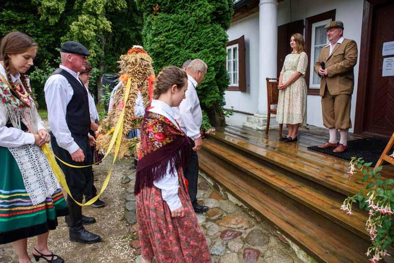 Lublin: Dożynki dworskie w Muzeum Wsi Lubelskiej. Będzie barwny orszak i inscenizacja - Zdjęcie główne
