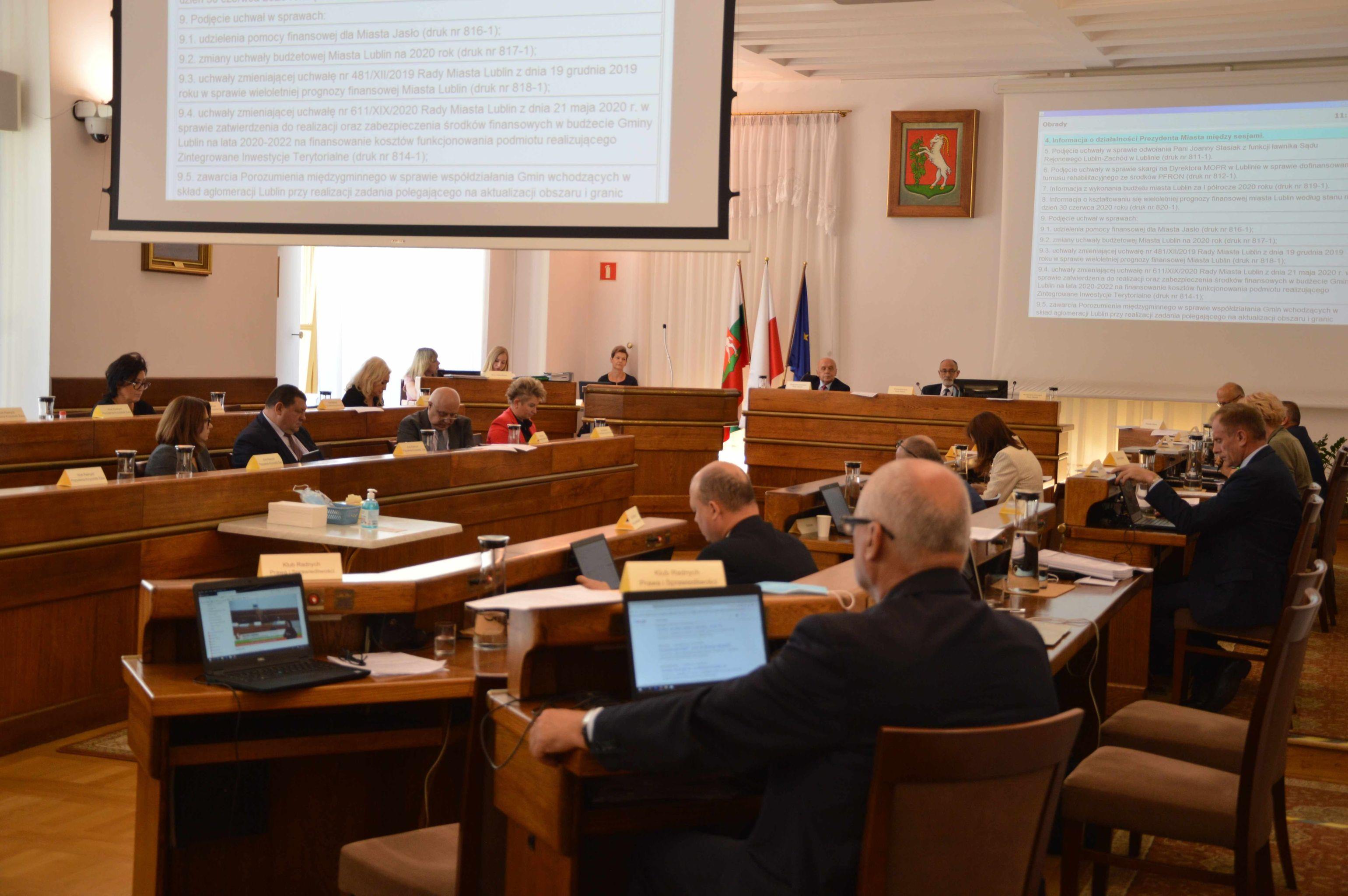 Lublinianie będą mogli oglądać posiedzenia komisji Rady Miasta - Zdjęcie główne