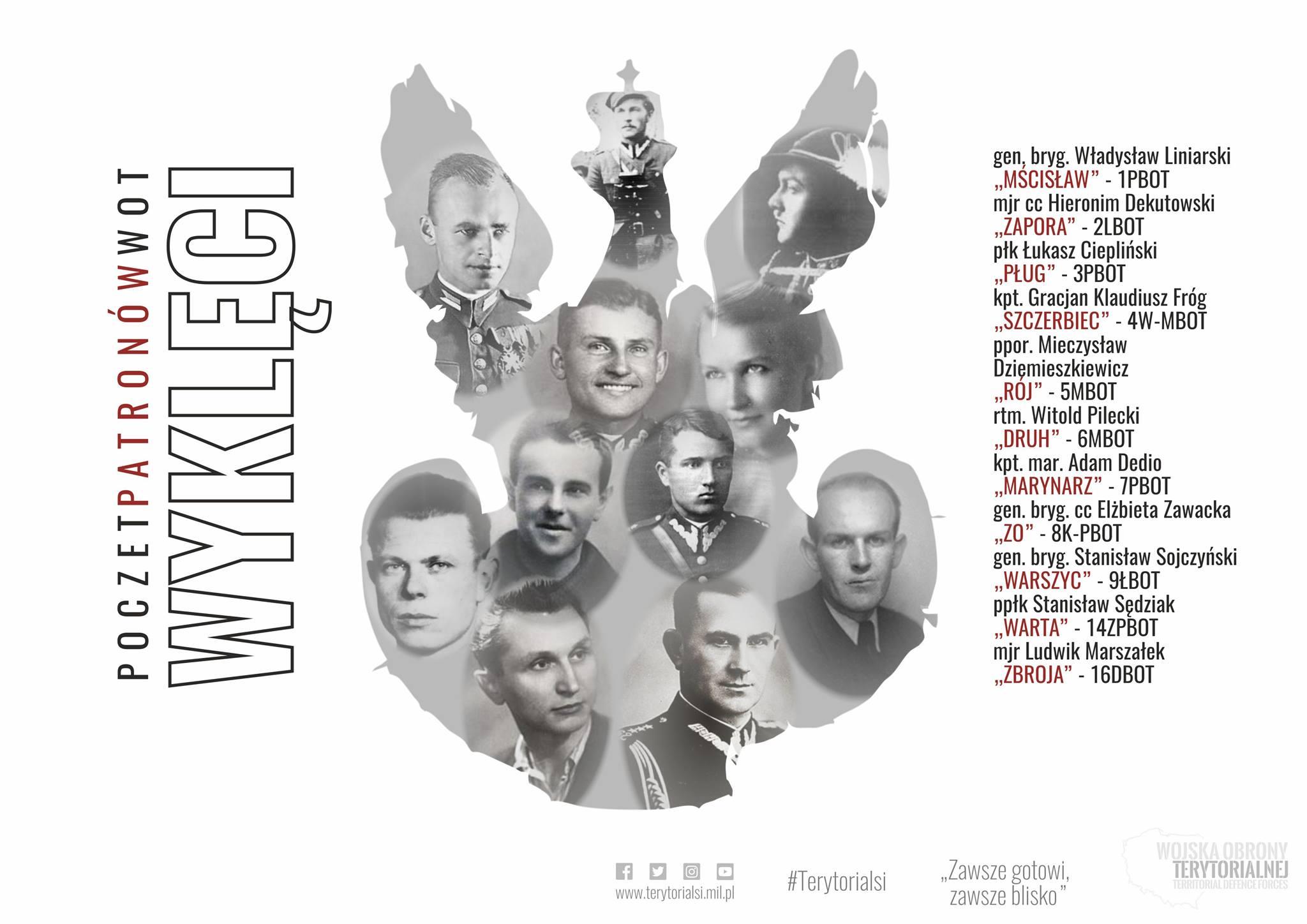 """Narodowy Dzień Pamięci """"Żołnierzy Wyklętych"""". Lubelscy terytorialsi obchodzą rocznicę nadania imienia - Zdjęcie główne"""