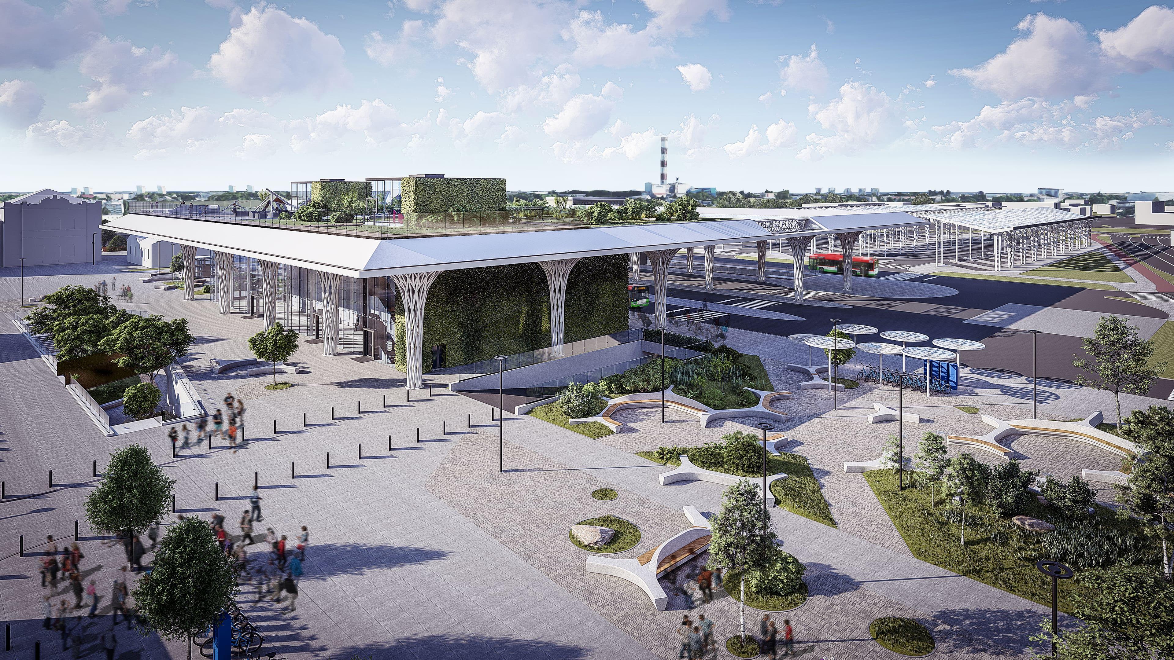 Sześć firm chce wybudować Dworzec Metropolitalny w Lublinie. Wszystkie powyżej zaplanowanego budżetu - Zdjęcie główne