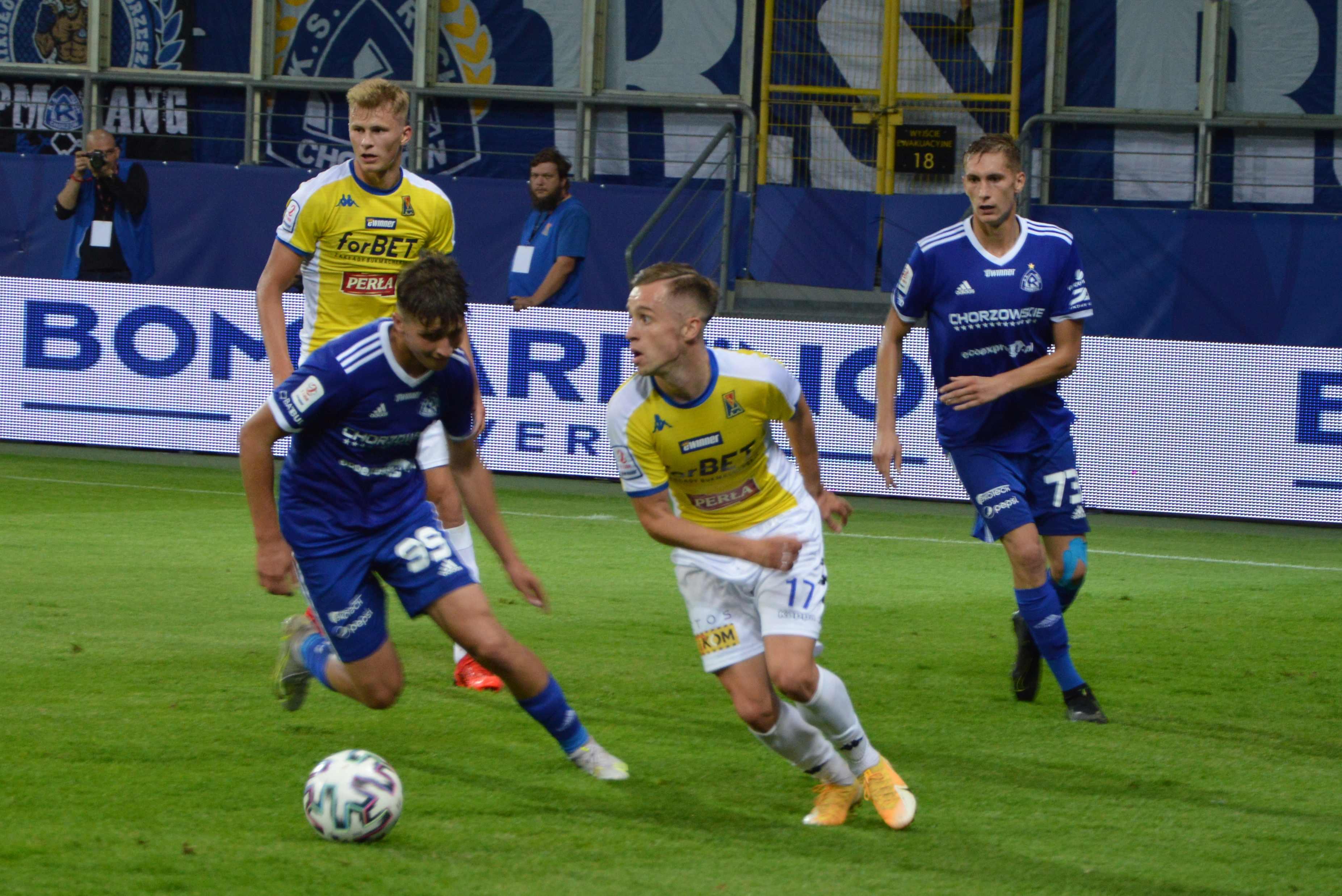 Motor Lublin - Ruch Chorzów 1:2. Przegrane piłkarskie święto na Arenie Lublin - Zdjęcie główne