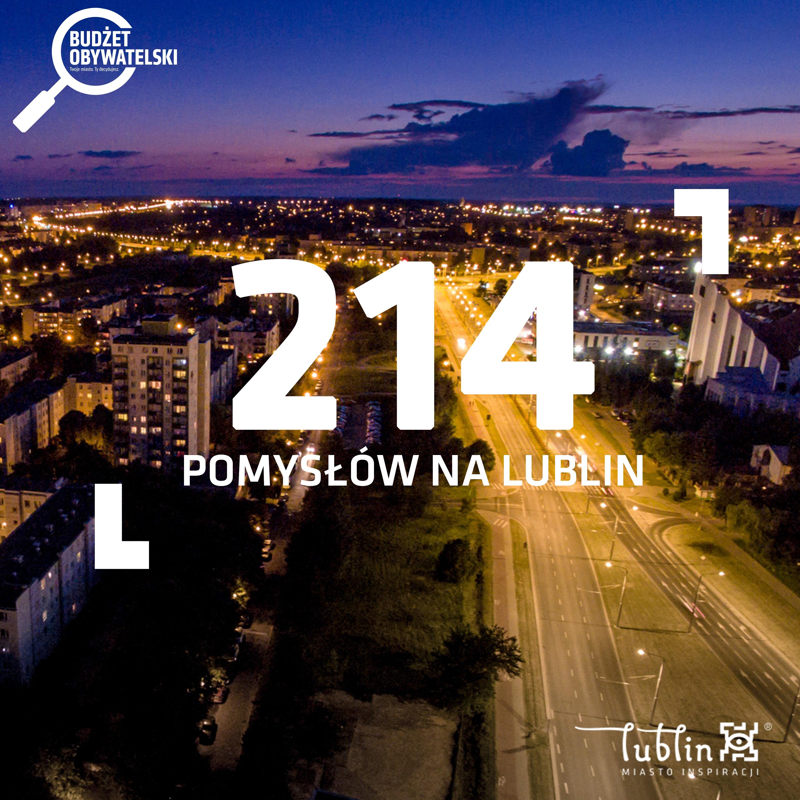 Lublin: Ponad 200 wniosków do Budżetu Obywatelskiego. Na astronomiczną kwotę - Zdjęcie główne