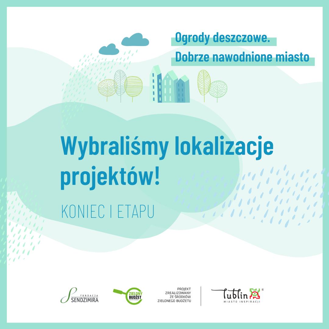 Lublin: powstaną ogrody deszczowe. Wybrano miejsca - Zdjęcie główne