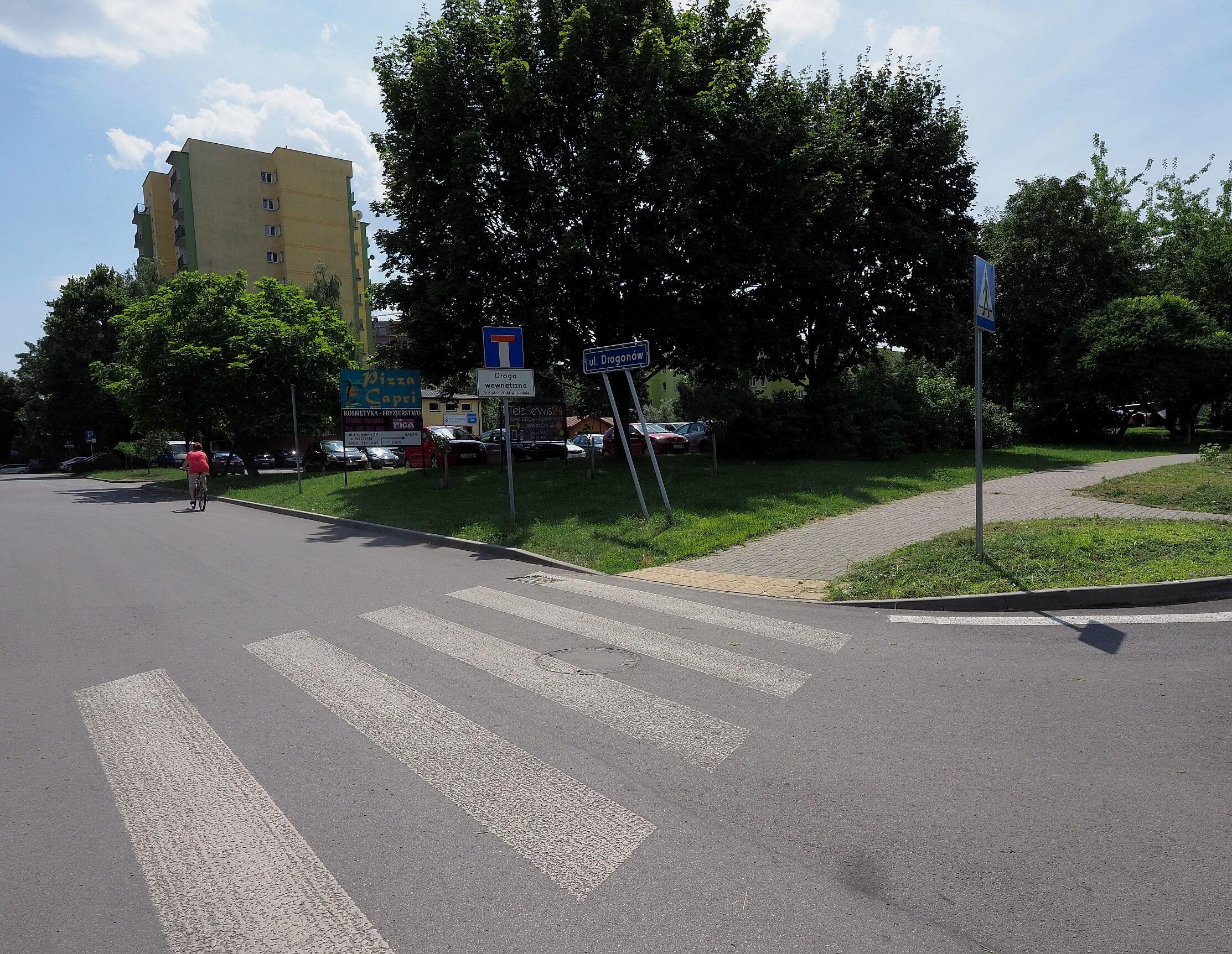 Lublin: Ulica Dragonów przeszła remont. W ramach Budżetu Obywatelskiego - Zdjęcie główne