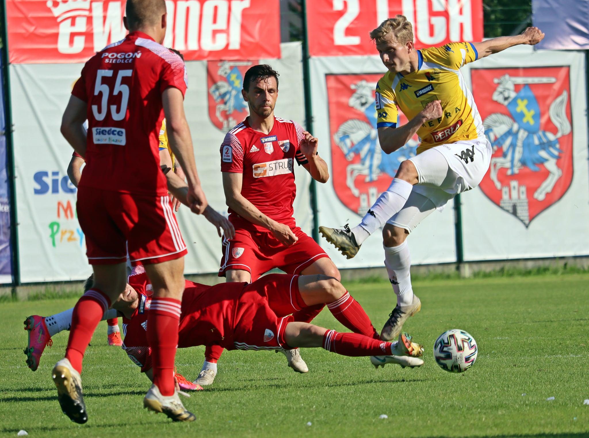 Motor Lublin zremisował z Pogonią Siedlce. Przegrywali już 0:3, ale zdołali dogonić rywali - Zdjęcie główne