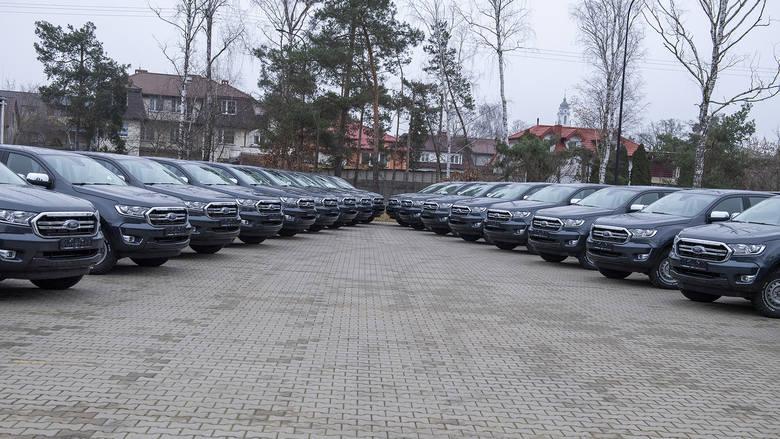 10 nowych samochodów dla lubelskich terytorialsów - Zdjęcie główne