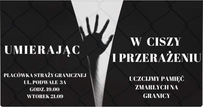 Lublin: Uczczą pamięć o zmarłych na granicy polsko-białoruskiej. We wtorek manifestacja - Zdjęcie główne