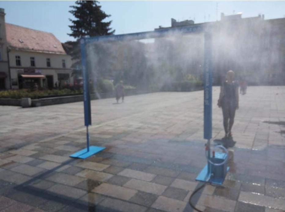 Lublin: na ulice miasta wrócą kurtyny wodne? Dla ochłody przechodniów - Zdjęcie główne