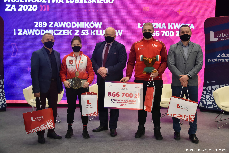 Stypendia sportowe Marszałka Województwa Lubelskiego za 2021 rok przyznane - Zdjęcie główne