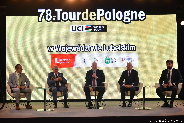 Województwo lubelskie: 78. Tour de Pologne. Przedstawiono lubelskie etapy wyścigu [WIDEO] - Zdjęcie główne