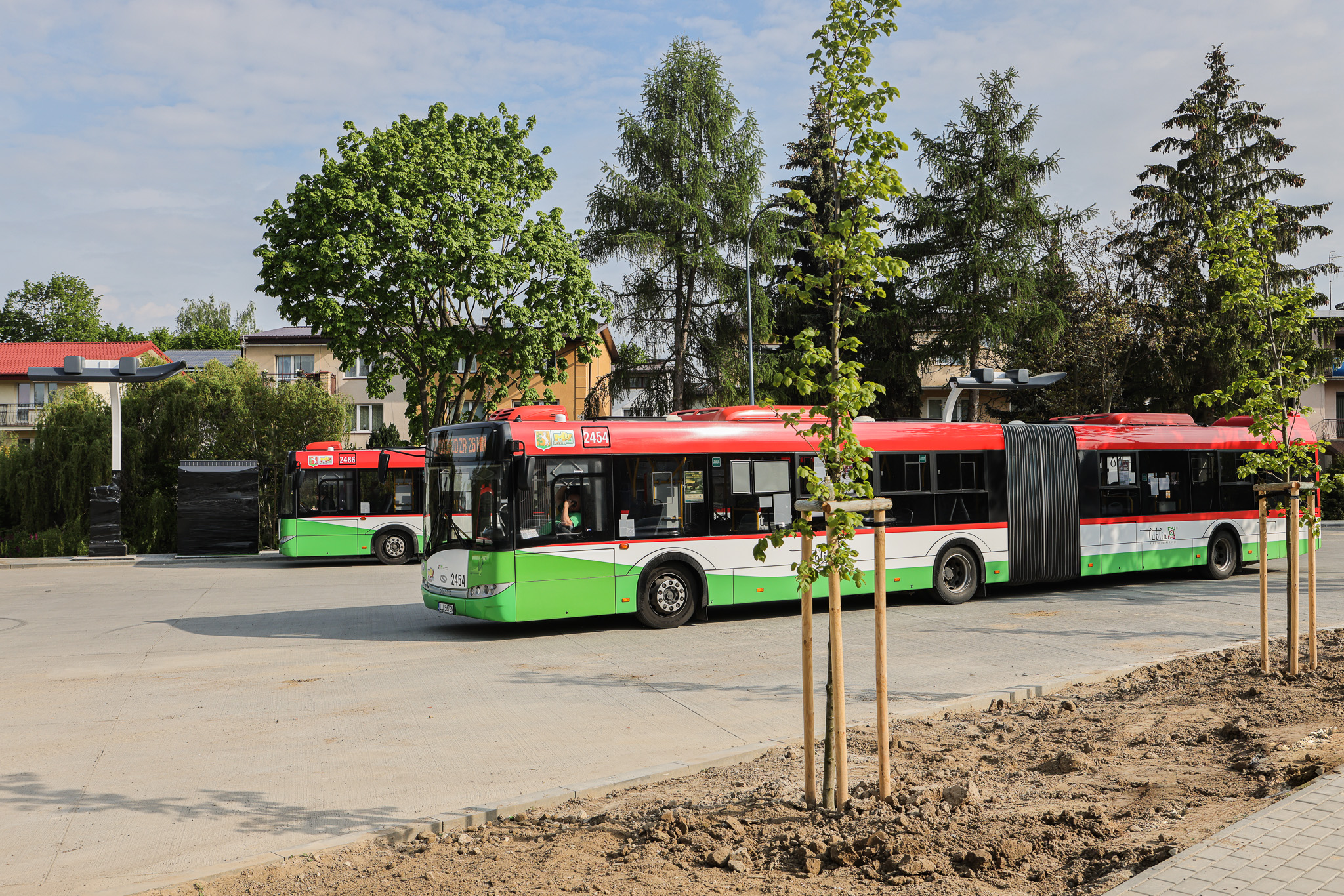 Lublin: trwa budowa węzłów przesiadkowych. Pojawią się tam drzewa i krzewy - Zdjęcie główne