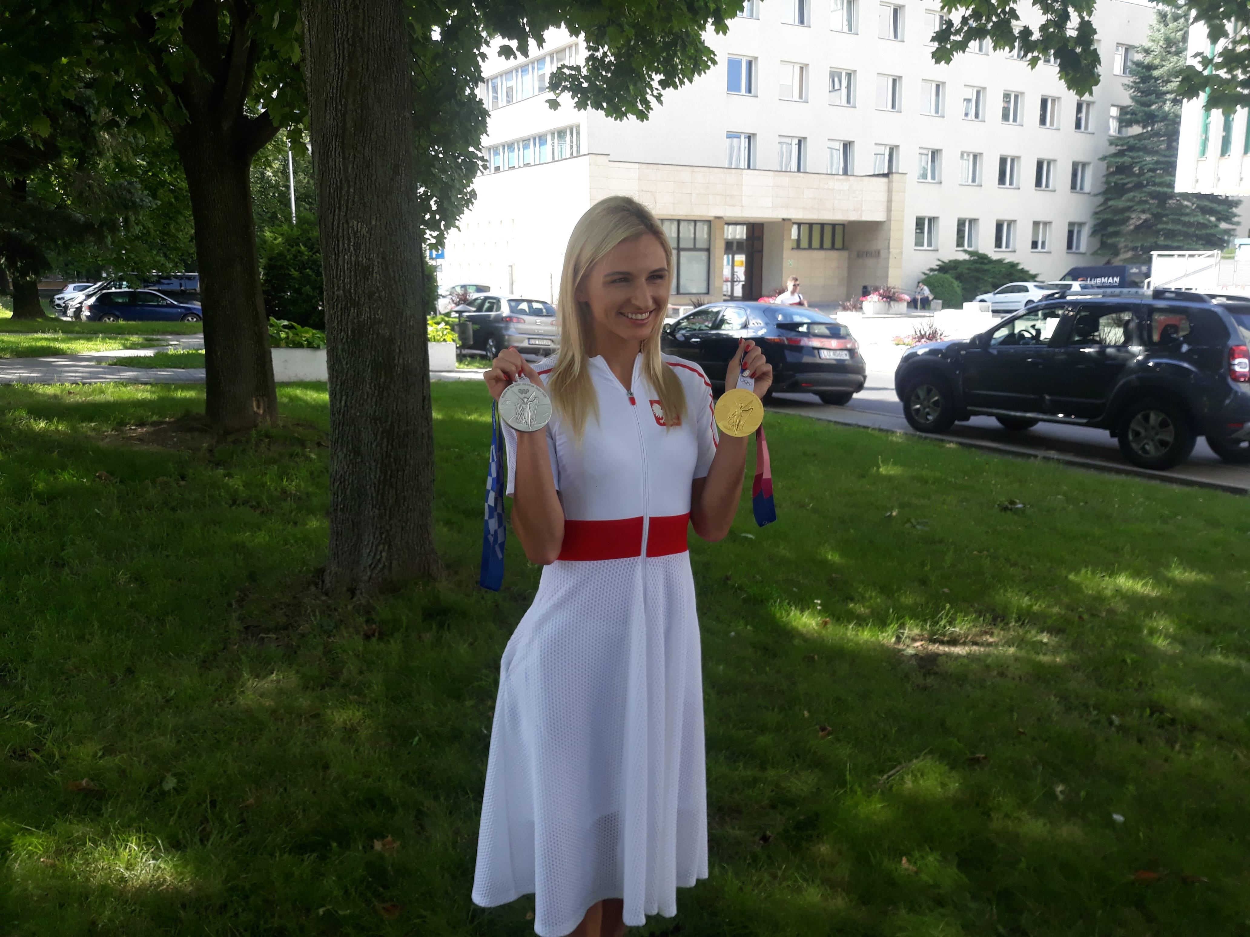 Lublin: Medalistka Igrzysk Olimpijskich już w Polsce. Małgorzata Hołub-Kowalik gościem na UMCS [WIDEO] - Zdjęcie główne