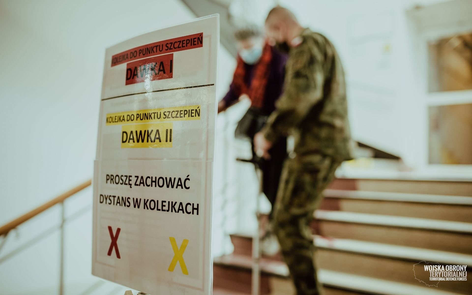 Lubelscy terytorialsi pomagają przy szczepieniach przeciwko COVID-19 - Zdjęcie główne