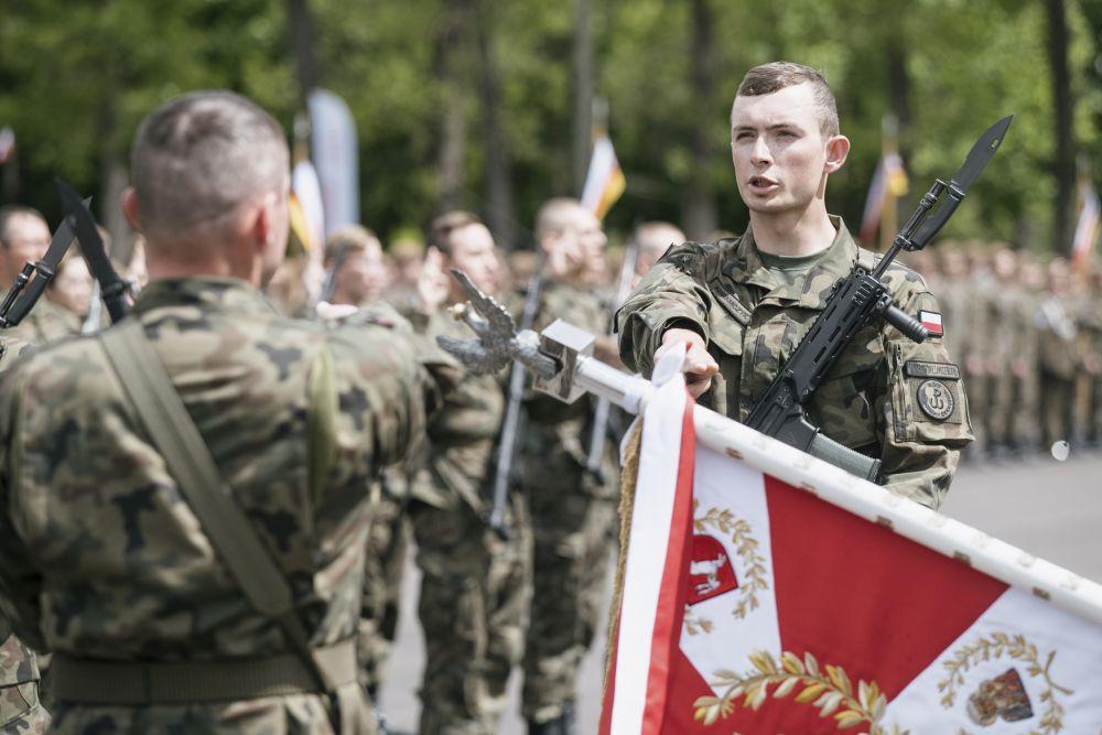 Lublin: terytorialsi obchodzili swoje święto. Były m.in. odznaczenia i przysięga wojskowa - Zdjęcie główne