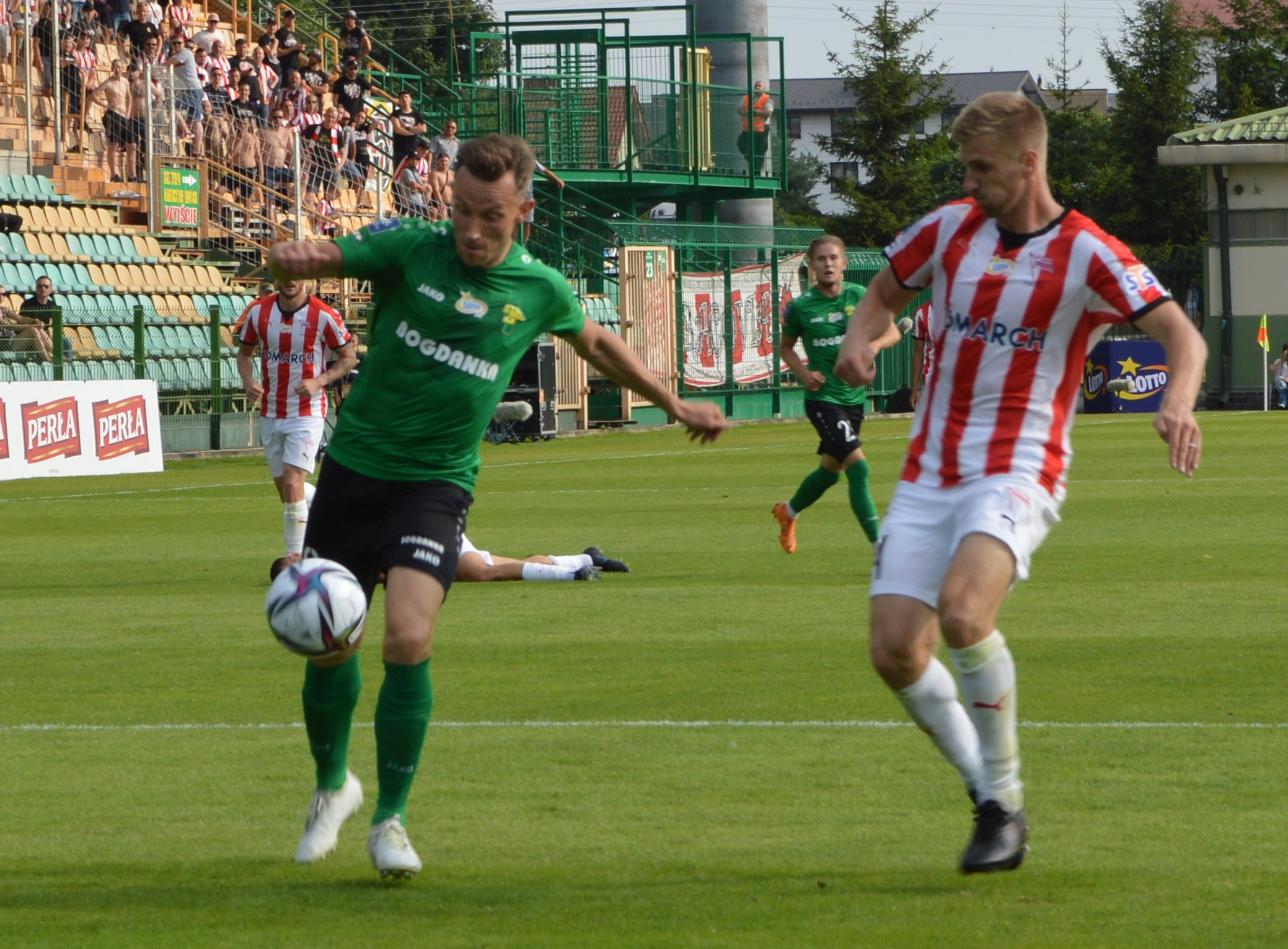 Górnik Łęczna - Lechia Gdańsk. Zielono-czarni rozbici na swoim stadionie - Zdjęcie główne
