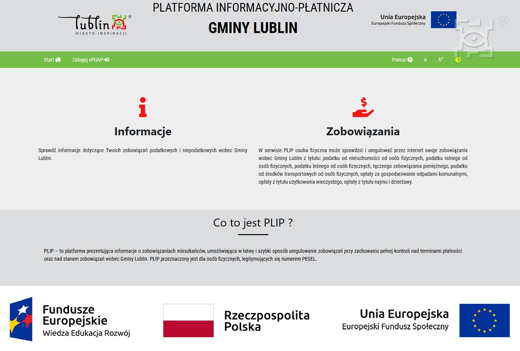 Elektroniczne udogodnienia dla podatników z Lublina - Zdjęcie główne