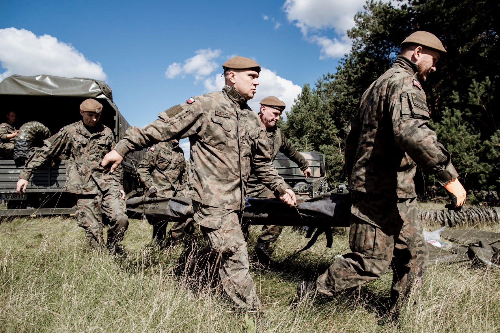Lublin: Kolejne szkolenie terytorialsów. Szkolą się saperzy i medycy - Zdjęcie główne