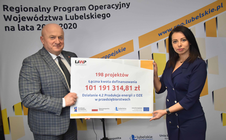 Miliony złotych dotacji na energię z OZE. Konkurs Lubelskiej Agencji Wspierania Przedsiębiorczości - Zdjęcie główne