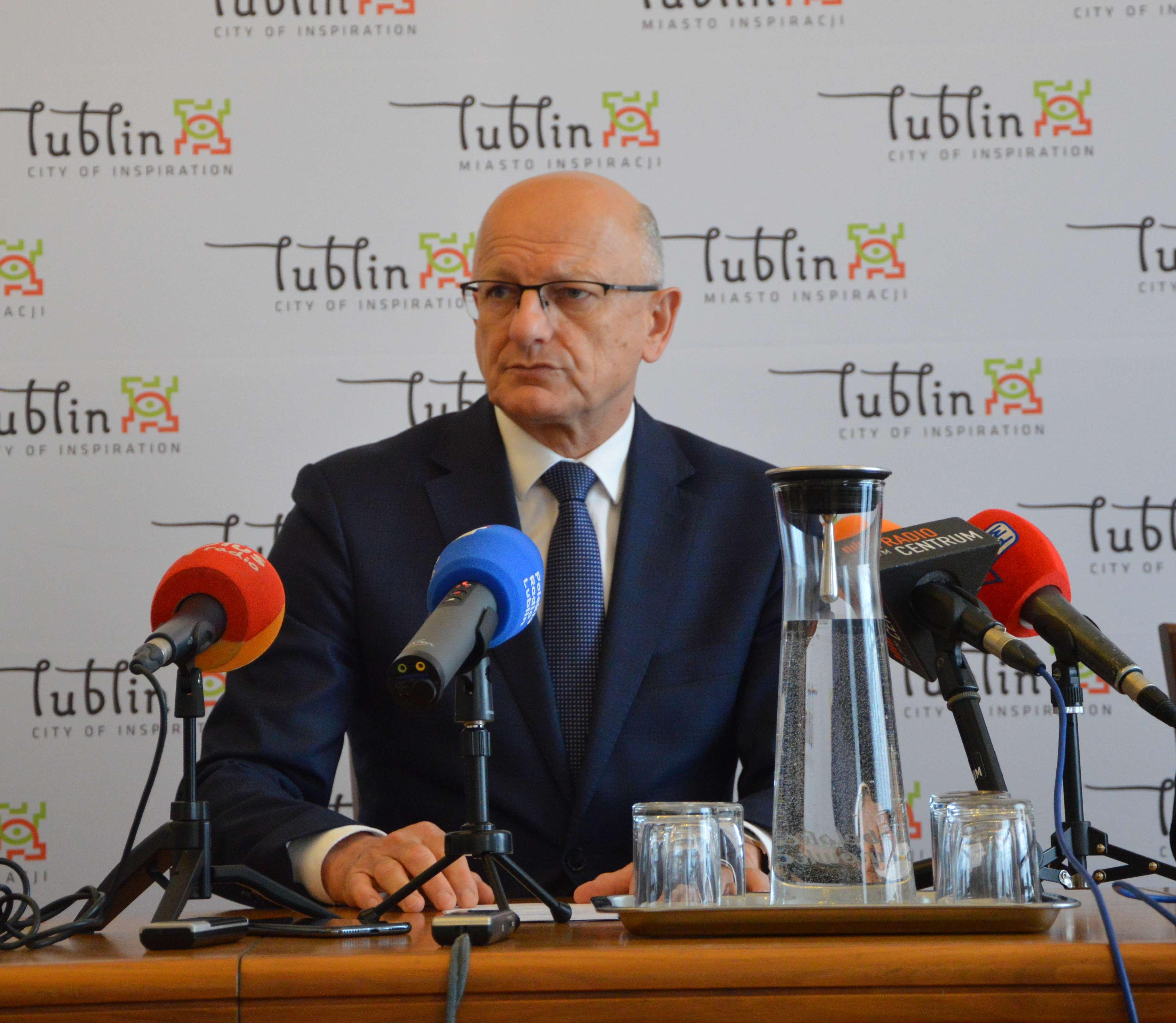 Krzysztof  Żuk będzie kandydował w kolejnych wyborach na prezydenta Lublina - Zdjęcie główne
