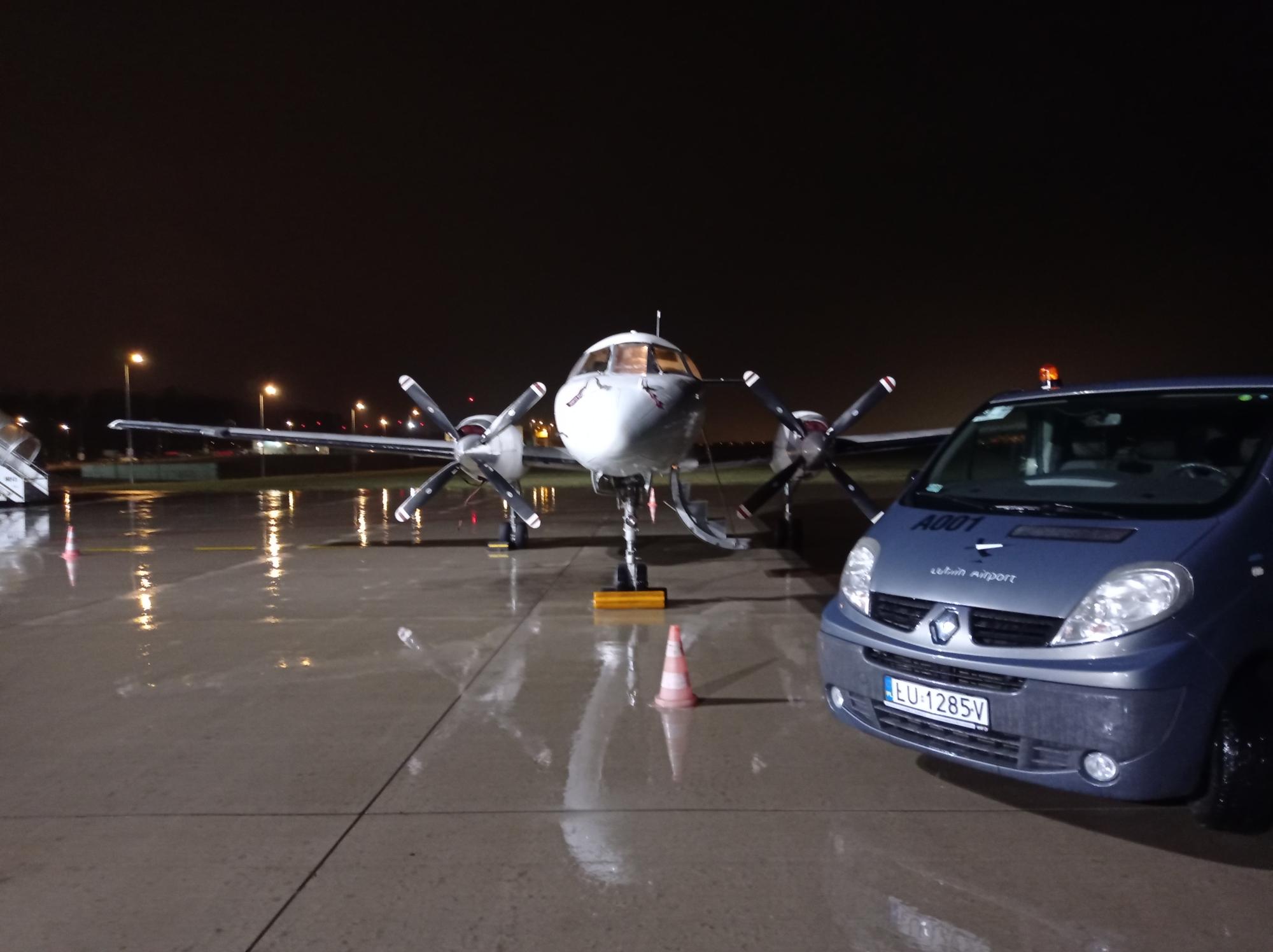 Port Lotniczy Lublin rozwija usługę cargo. Przyjął nocny transport z Hiszpanii - Zdjęcie główne