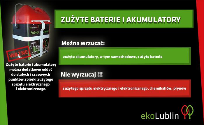 Lublin: Zbliża się Dzień Recyklingu Baterii. Będą upominki za zużyte baterie - Zdjęcie główne