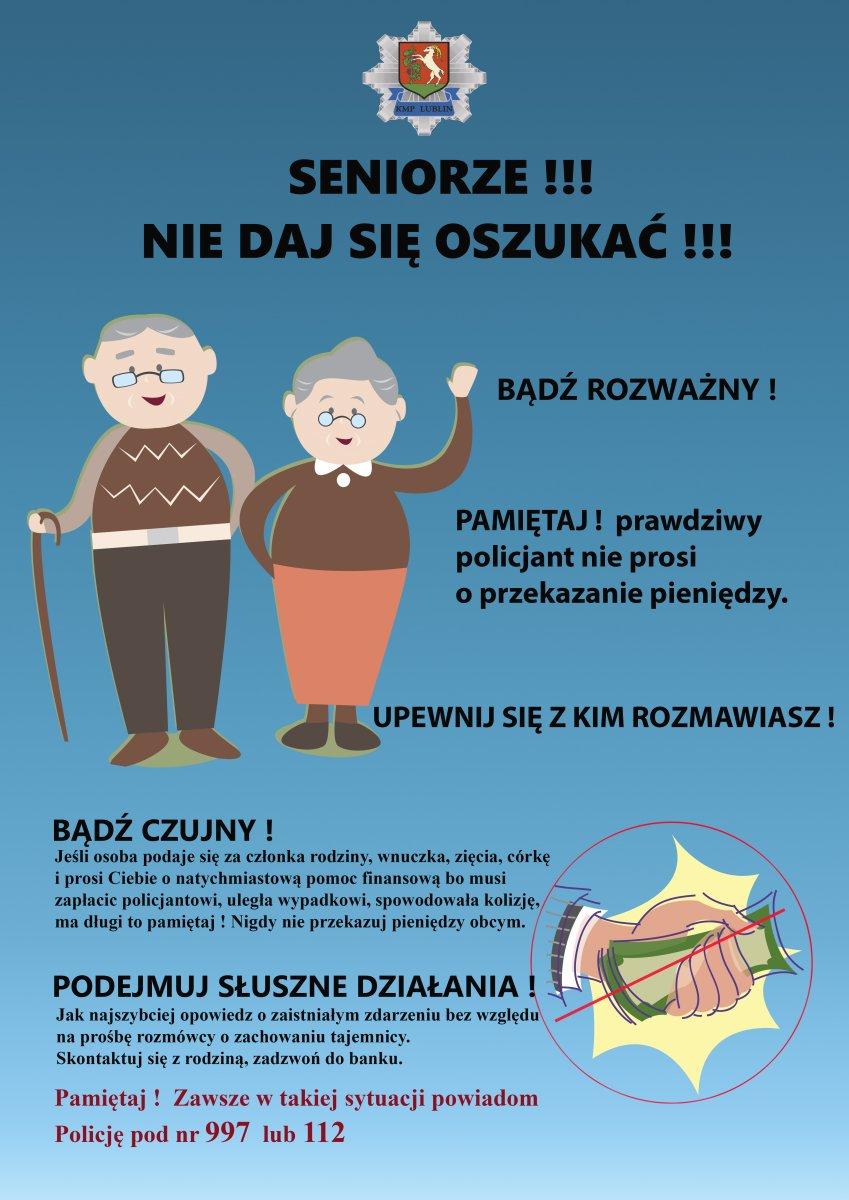 Lublin: Fałszywy wnuczek oszukał dziadka - Zdjęcie główne