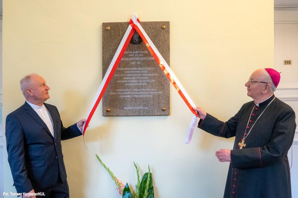 Lublin: KUL upamiętnił jednego ze swoich wykładowców. Nazwał aulę Jego imieniem - Zdjęcie główne