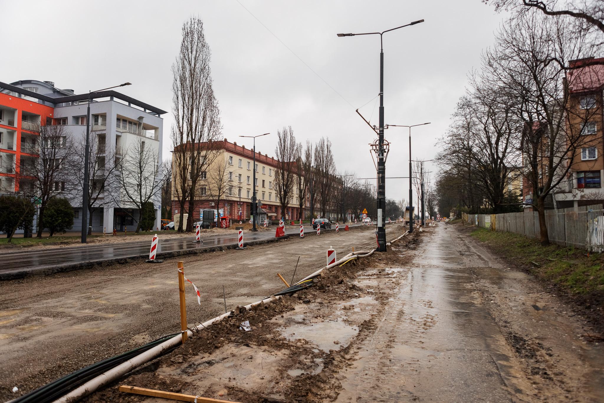 Przebudowa Al. Racławickich w Lublinie. Otworzą ul. Lipową dla ruchu - Zdjęcie główne
