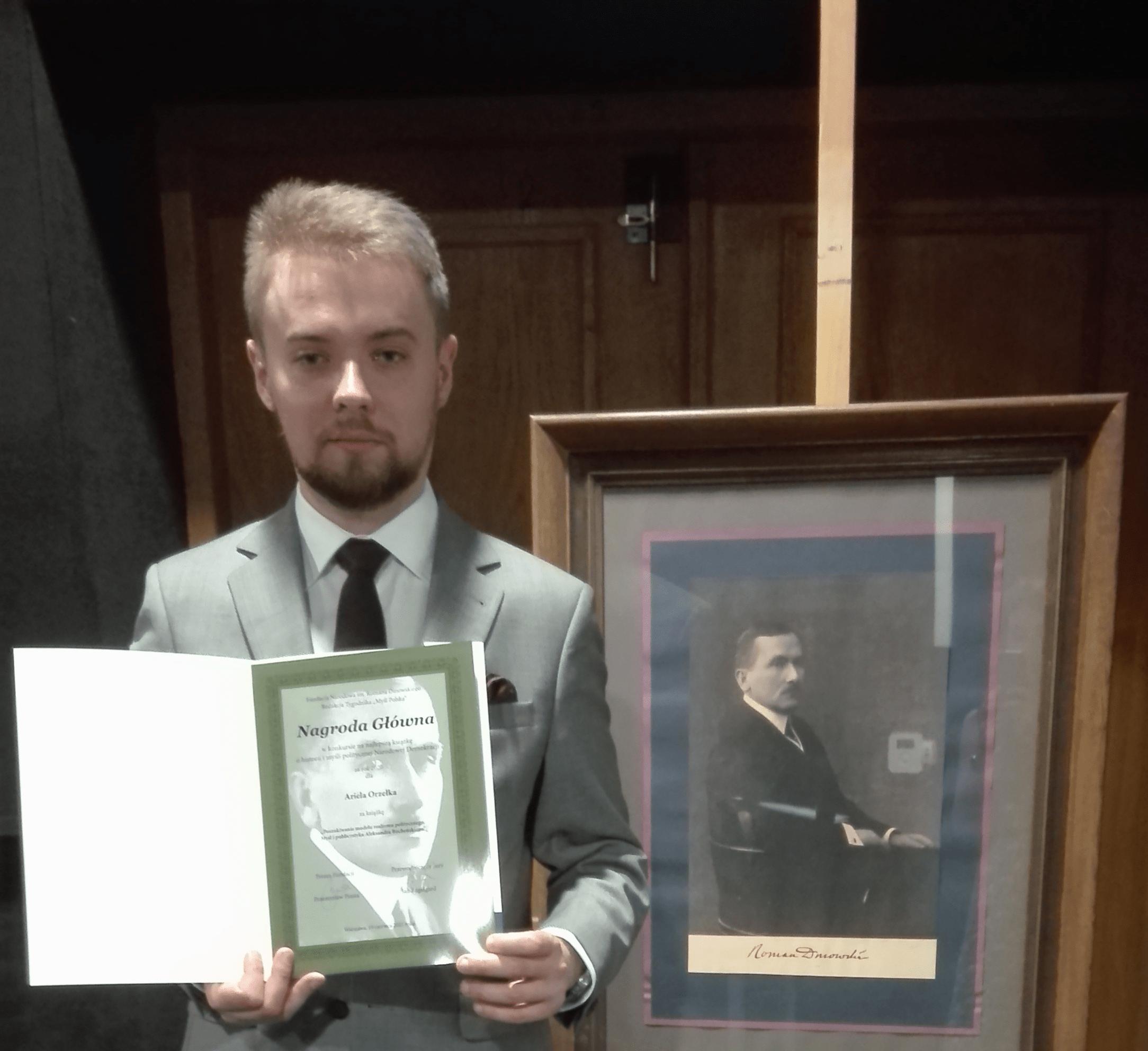 Lublin: naukowiec z UMCS z Nagrodą Fundacji Narodowej im. Romana Dmowskiego - Zdjęcie główne