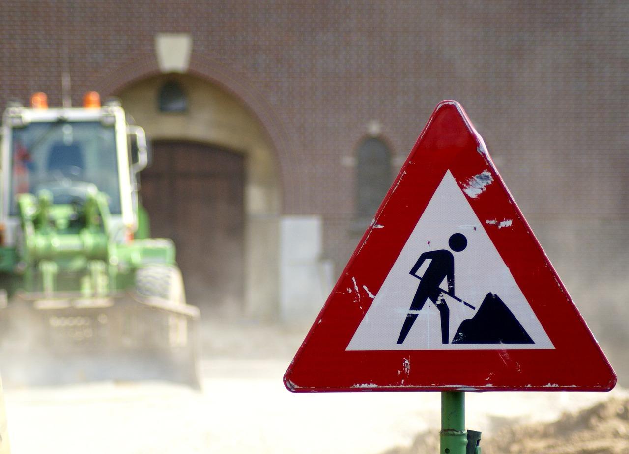 Lublin: pojeździmy inaczej przez Drogę Męczenników Majdanka. Przez próby obciążeniowe wiaduktu - Zdjęcie główne