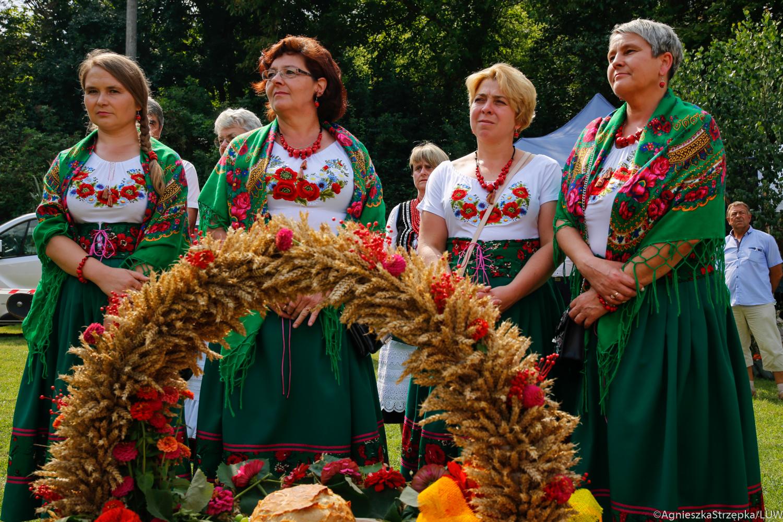 Powiat lubelski: Dożynki gminy Konopnica za nami. Wojewoda dziękował rolnikom i mówił o szczepieniach [GALERIA] - Zdjęcie główne