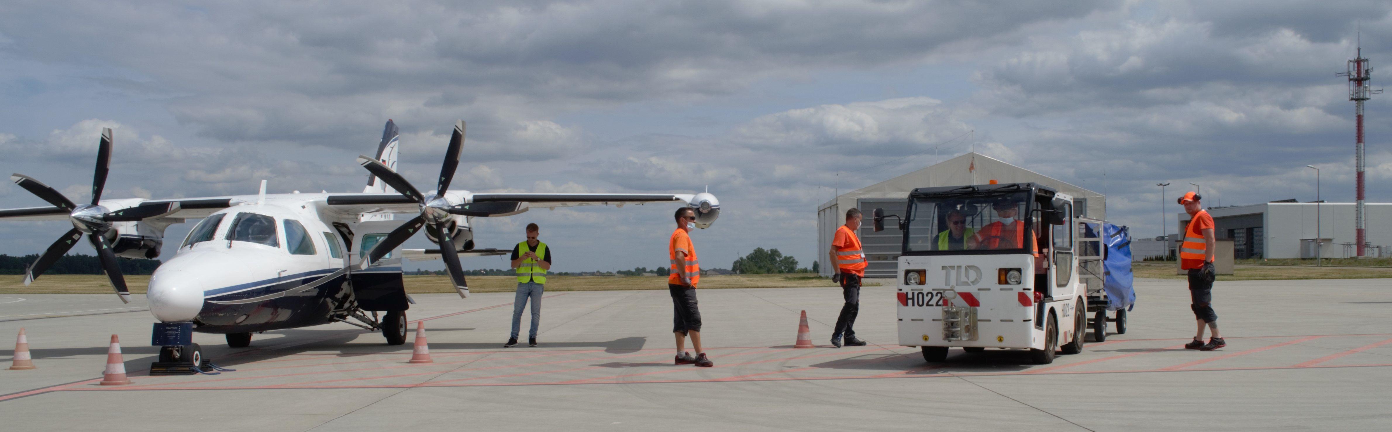 Lublin: Lotnisko zrealizowało kolejne zlecenie cargo. W ekspresowym tempie - Zdjęcie główne