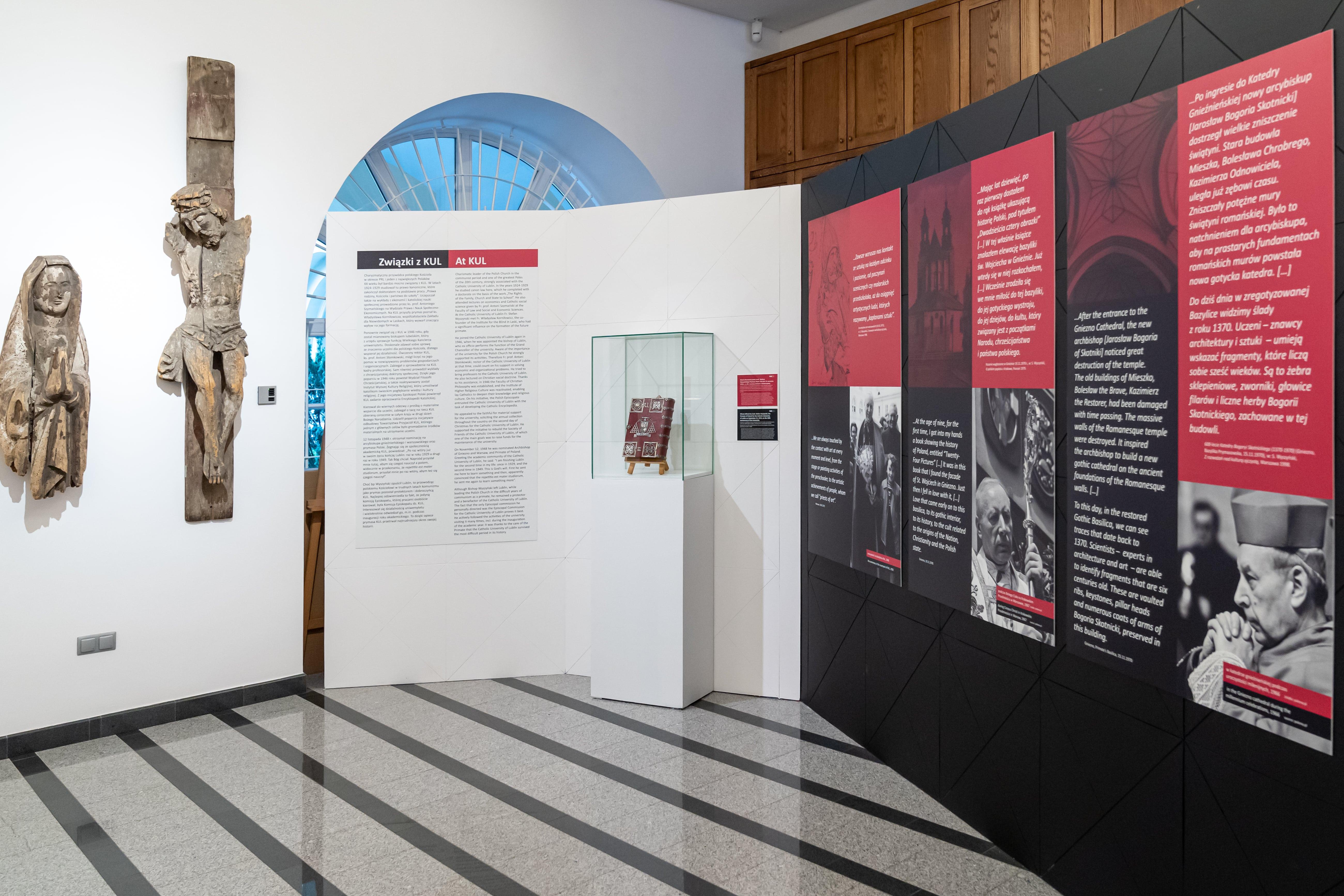 Lublin: W Muzeum KUL jest wystawa o kard. Stefanie Wyszyńskim  - Zdjęcie główne