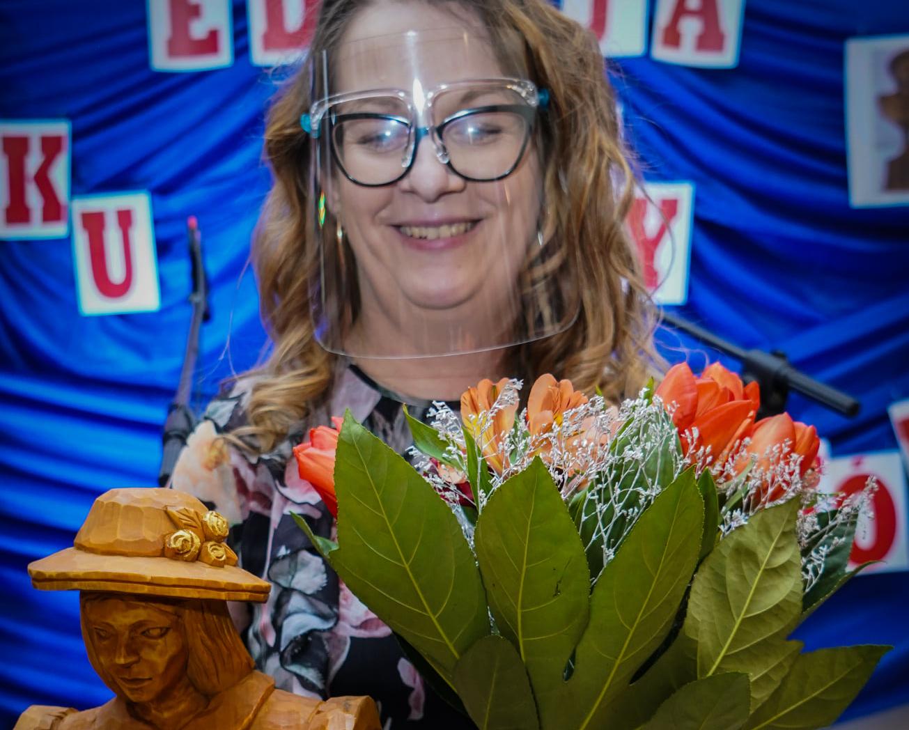 Beata Bajdziak z Kownatek - Kobieta Roku Gminy Łuków 2021 (RELACJA + ZDJĘCIA) - Zdjęcie główne