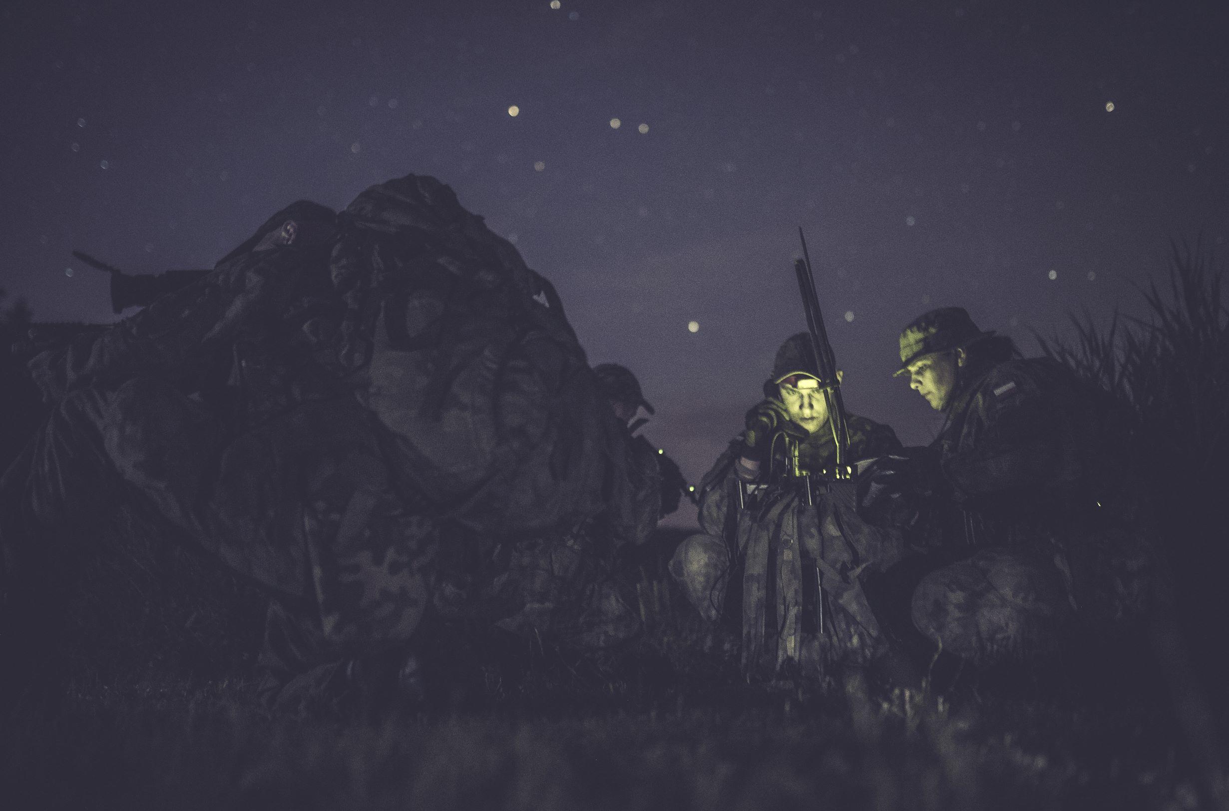 Województwo lubelskie: Terytorialsi - zwiadowcy szkolili się na poligonie - Zdjęcie główne