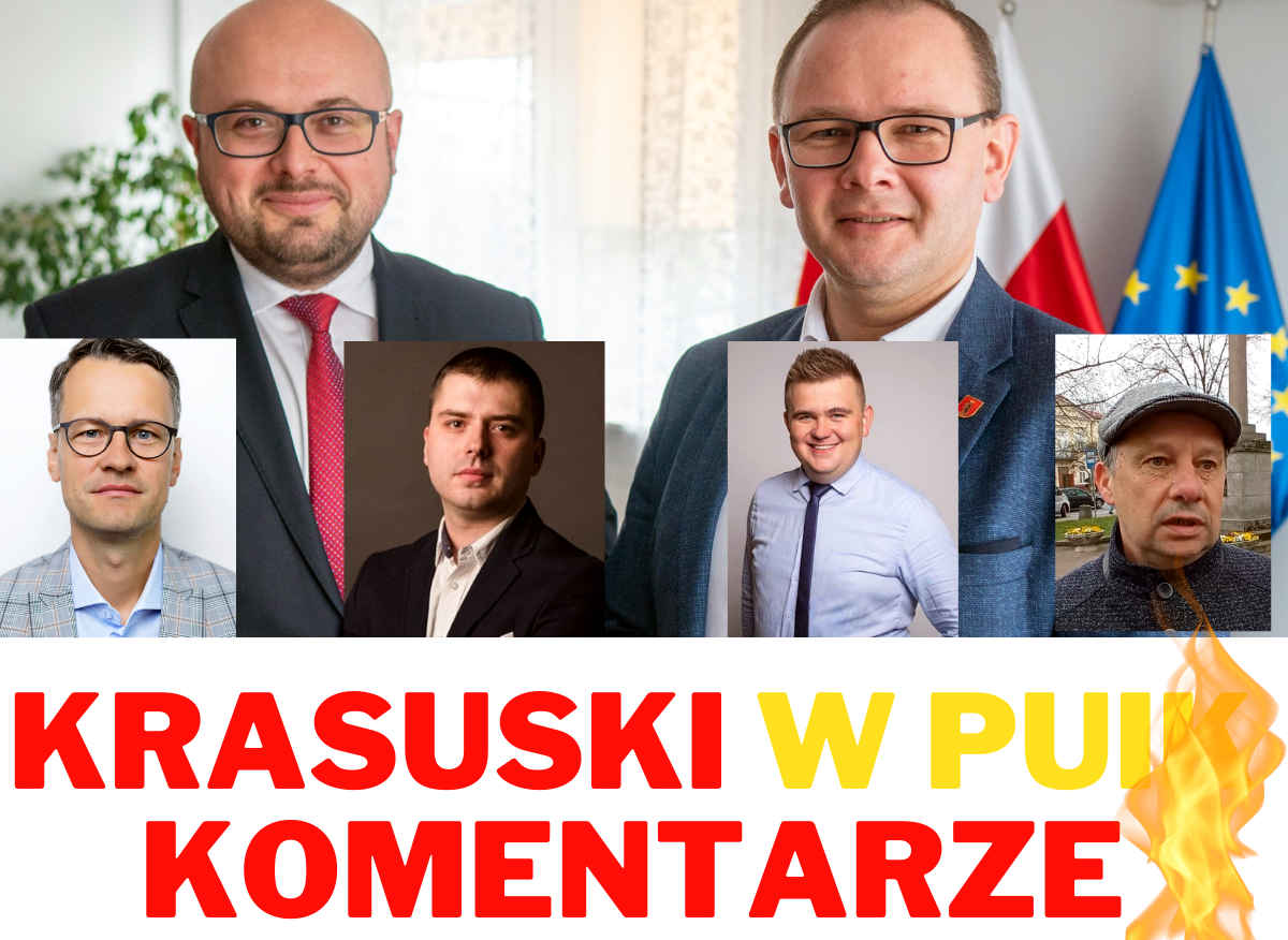 """ŁUKÓW.  Paweł Krasuski w PUIK.  """"Potrzebna decyzja"""", """"Zła decyzja"""". Skrajne opinie radnych  (WIDEO) - Zdjęcie główne"""