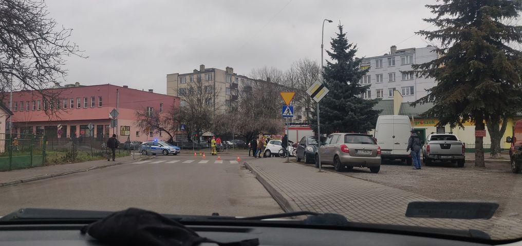Utrudnienia ul. Dmocha w Łukowie  - Zdjęcie główne