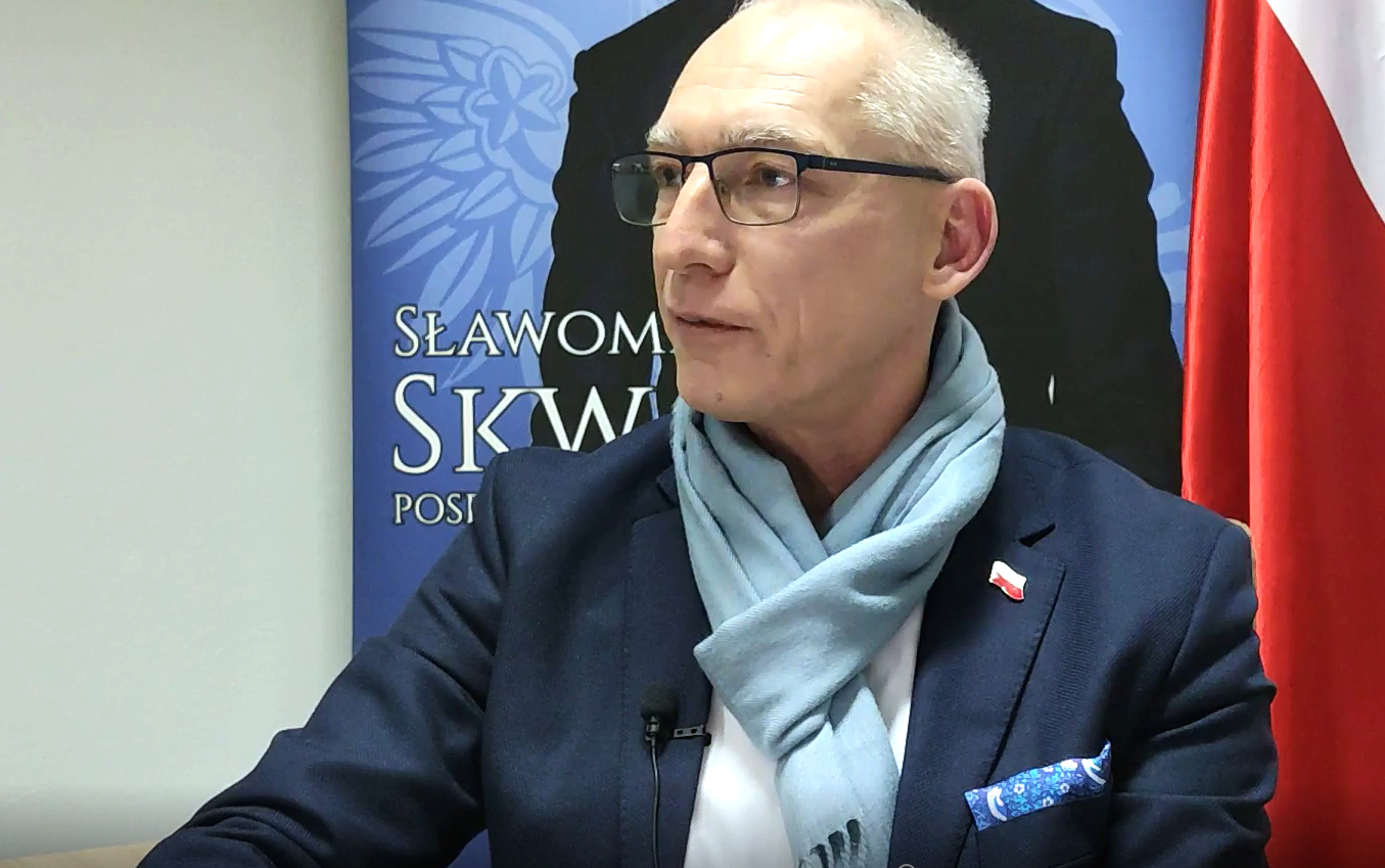 """ŁUKÓW Poseł Skwarek o projekcie ws. mandatów """"To nie jest ustawa kagańcowa"""" (WIDEO) - Zdjęcie główne"""